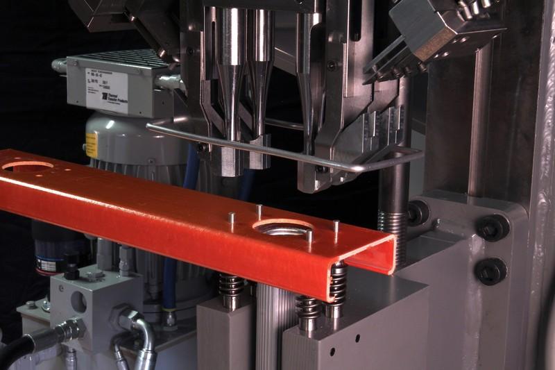 Rivet Machine Anvils : Four headed riveter better than one national rivet